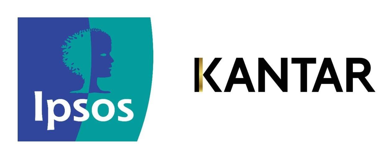 Ipsos Kantar logos